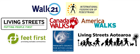 Victoria Walks is linked to other organisations internationally