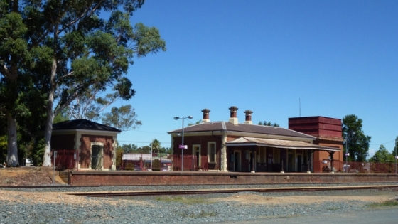 Elmore train station: Great Victorian regions