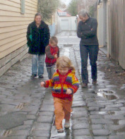 Walk with children for a lifetime of better health