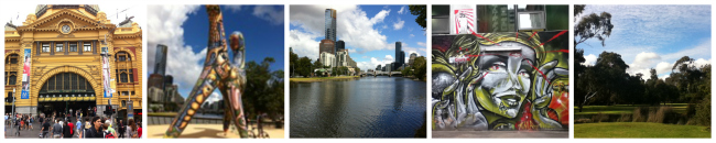 Explore your world on foot in Melbourne