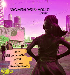 Victoria Walks: Women and walking article