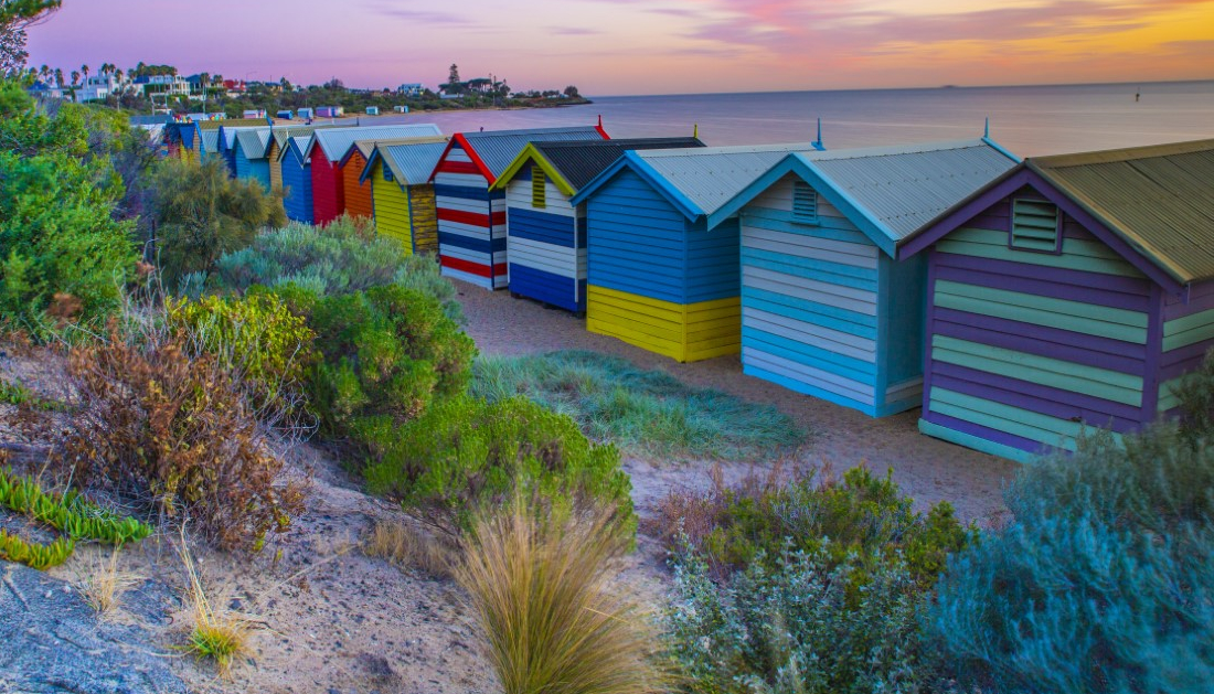 Brighton to Port Melbourne walk: Great Melbourne Walks. Photo: Jim Zapsalis (@Walking_Perspective)