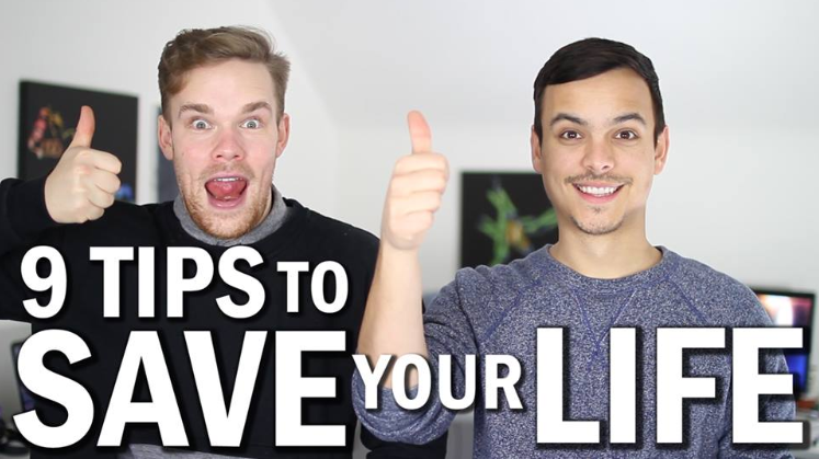 9 tips to save your life video