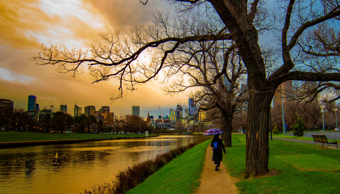 Victoria Walks: Melbourne's best walks and urban hikes. Photo: Jim Zapsalis (@Walking_Perspective)