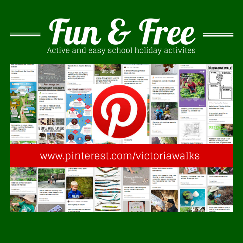 Walking with children - ideas and activities
