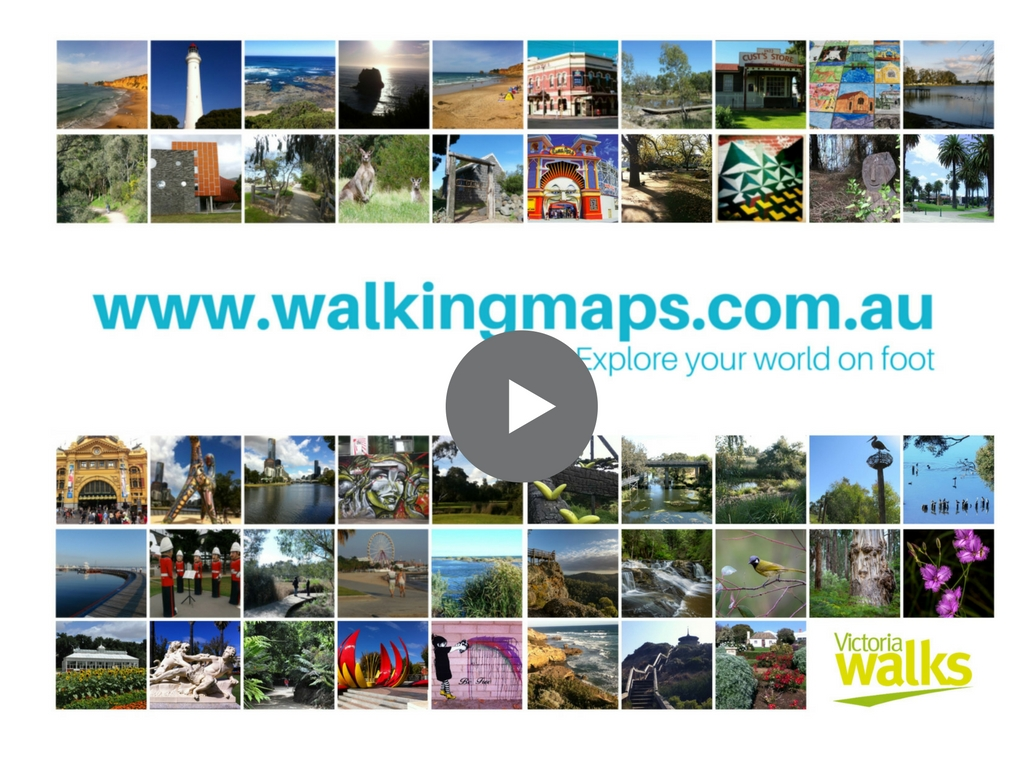 Find out about the Walking Maps website