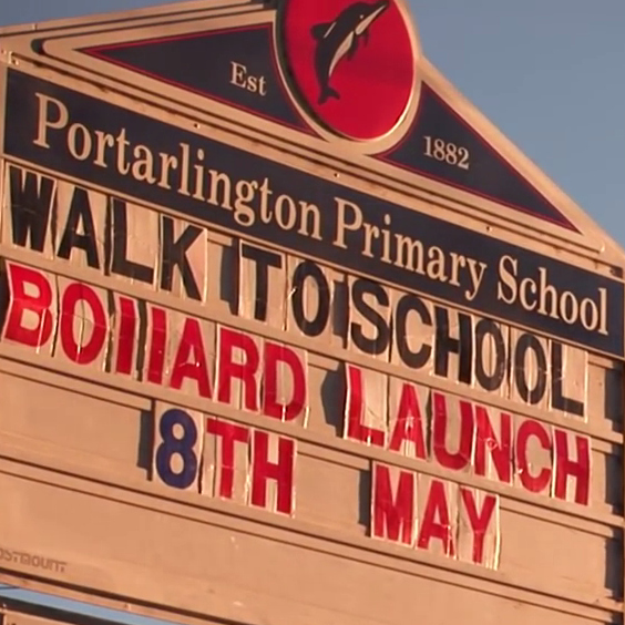 Portarlington Primary School Bollard Project