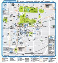 Bendigo Universal Access Map