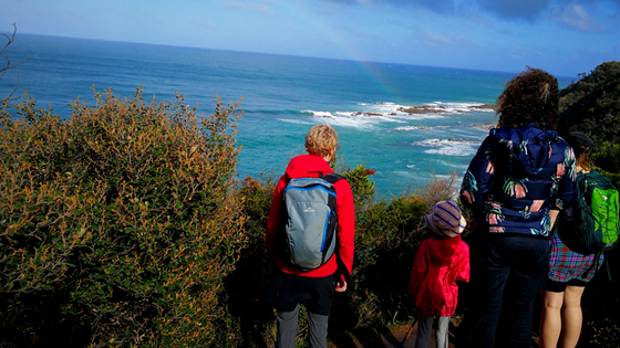 Great Ocean Walk Blanket Bay to Cape Otway map 3956.