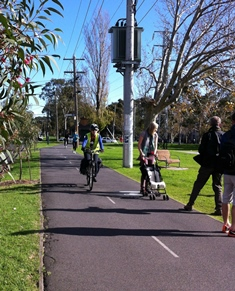 Shared path